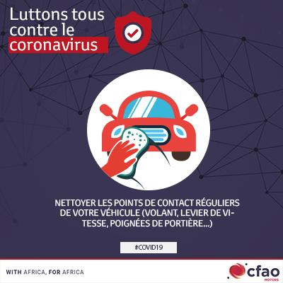 Le coronavirus : comment bien nettoyer votre véhicule